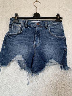 Zerrisse Jeans Shorts