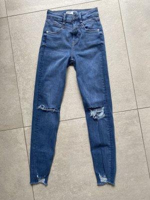 Bershka Jeans elasticizzati blu