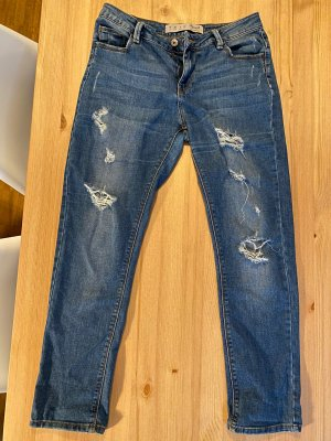 Denim Co. Boyfriend Jeans dark blue-blue