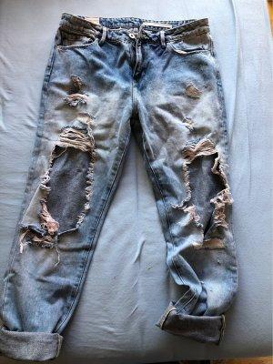 Trf by Zara Baggy Jeans azure