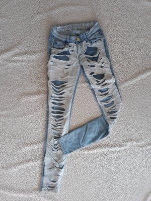 zerrissene Jeans Gr. 34/36