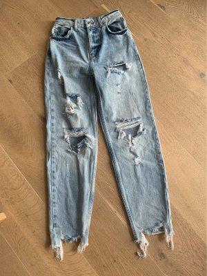 Zerrissene Mom jeans