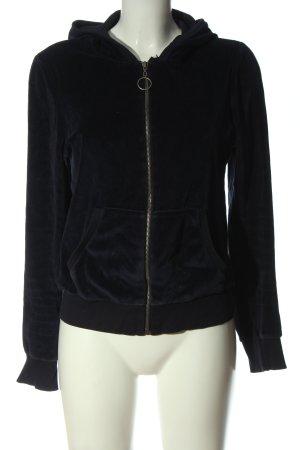 zf basics Sweatshirt met capuchon zwart casual uitstraling