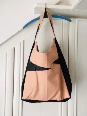 Carry Bag black-apricot