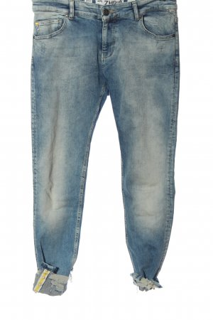 Zhrill 7/8-jeans blauw casual uitstraling