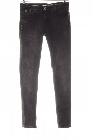 Zhrill Skinny Jeans schwarz Casual-Look