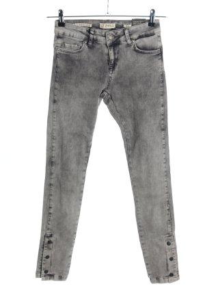 Zhrill Skinny Jeans hellgrau Casual-Look