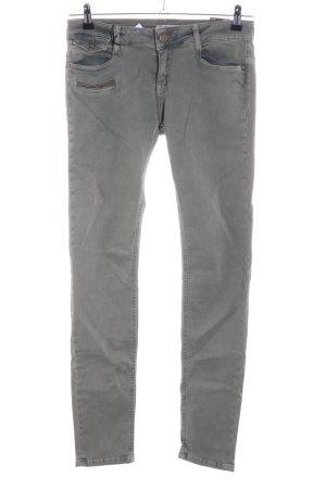 Zhrill Vaquero skinny gris claro look casual