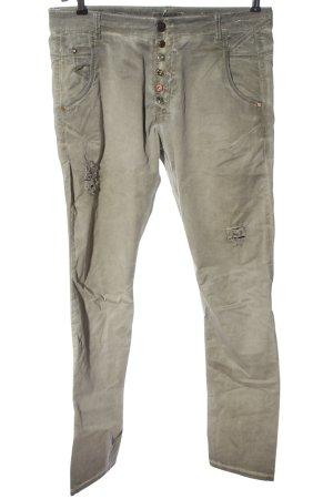 Zhrill Straight-Leg Jeans hellgrau Casual-Look