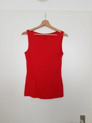 Tezenis Boatneck Shirt red-brick red