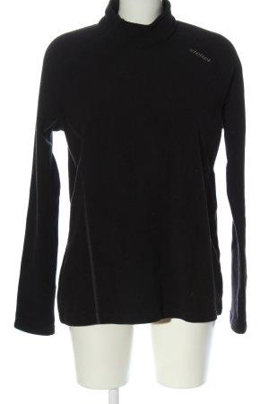 Ziener Pullover in pile nero stile casual