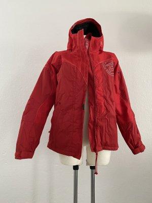 Ziener Giacca invernale rosso scuro-rosso mattone