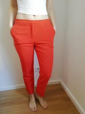 H&M 3/4-broek rood-oranje Polyurethaan