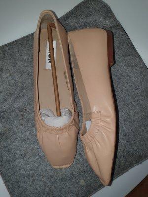Zign Ballerina Flats beige creme Gr.39 *neu*