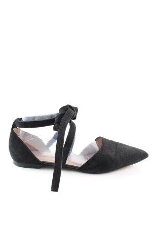 Zign Ballerinas mit Spitze schwarz Business-Look