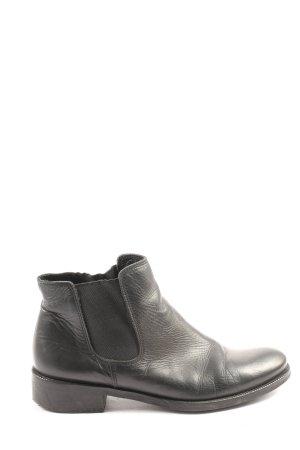 Zign Chelsea Boots schwarz Business-Look