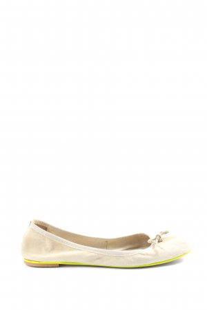 Zign Foldable Ballet Flats natural white casual look