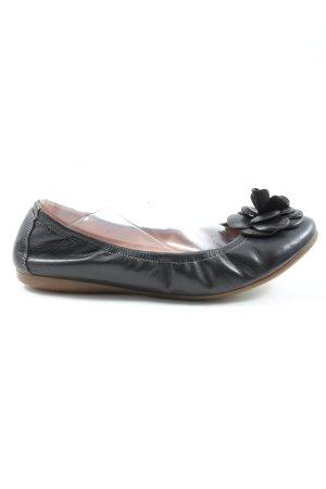 Zign Opbouwbare ballerina's zwart casual uitstraling