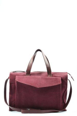 Zign Handtasche pink-braun Casual-Look