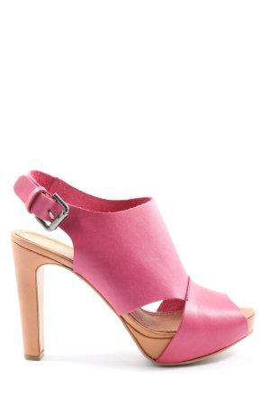Zign High Heel Sandaletten pink Elegant