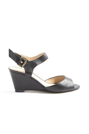 Zign High Heel Sandaletten schwarz Casual-Look