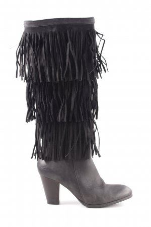 Zign High Heel Stiefel schwarz Street-Fashion-Look