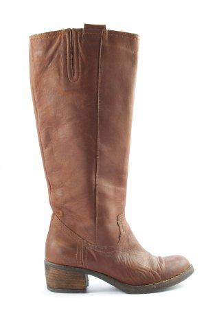 Zign High Heel Stiefel braun Casual-Look