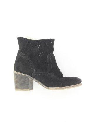 Zign Wysokie buty na obcasie czarny
