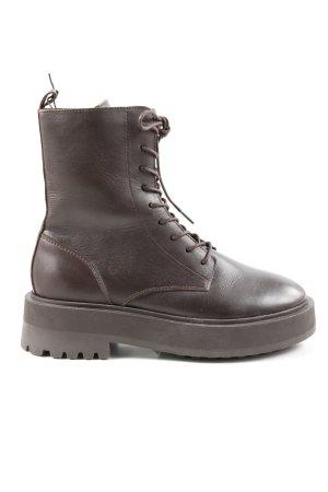Zign Short Boots brown casual look