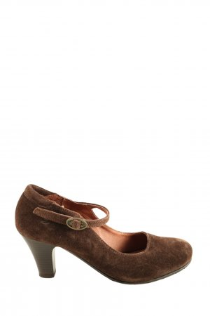 Zign Mary Jane Pumps braun Casual-Look