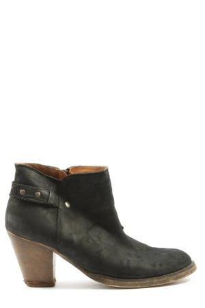 Zign Reißverschluss-Stiefeletten schwarz Casual-Look