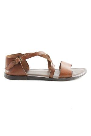 Zign Roman Sandals brown casual look