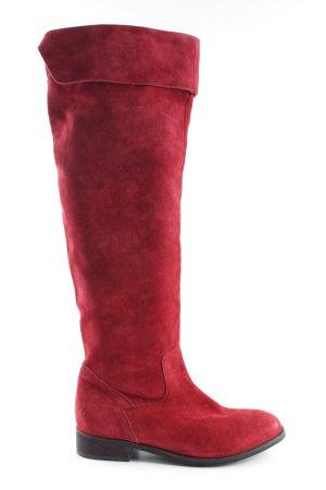 Zign Stivale militare rosso elegante