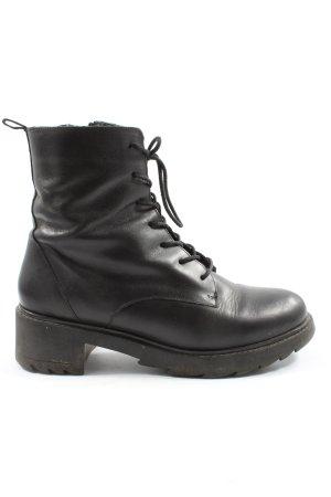 Zign Schnür-Stiefeletten schwarz Casual-Look