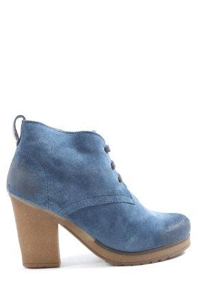 Zign Schnür-Stiefeletten blau Casual-Look