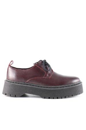 Zign Schnürschuhe rot-schwarz Casual-Look