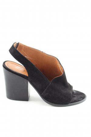 Zign Slingback-Pumps schwarz Business-Look