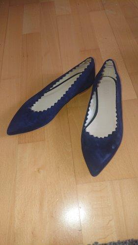 Zign Zapatos formales sin cordones azul oscuro