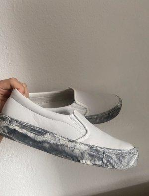 ZIGN Sneaker Marmor Muster weiß grau 38