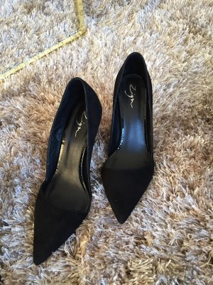 Zign veloursleder Pumps