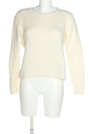 ZILCH Wollpullover wollweiß Casual-Look