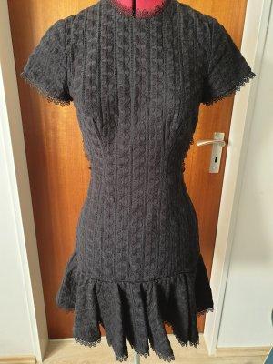 Zimmermann Vestido de manga corta negro