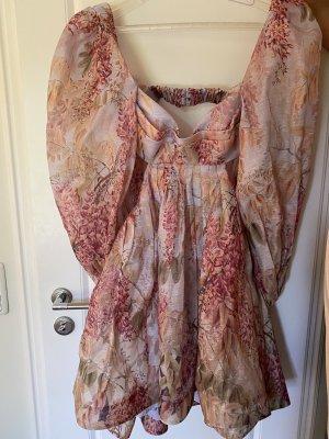 Zimmermann Cut Out Dress multicolored