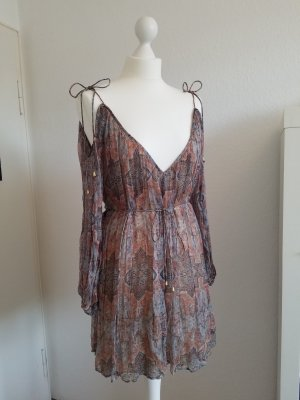 Zimmermann Harlequin Heriz Playsuit Jumpsuit Kleid Gr. 0