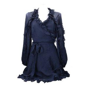 Zimmermann Kopertowa sukienka niebieski