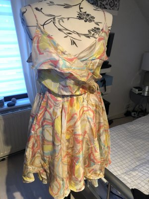 Zimmermann Wickelkleid aus Seide, Größe 36