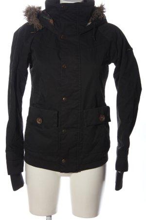Zimtstern Kurtka z kapturem czarny W stylu casual