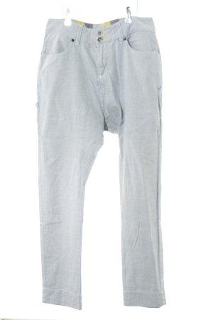 Zimtstern Spodnie materiałowe jasnoszary Na całej powierzchni W stylu casual