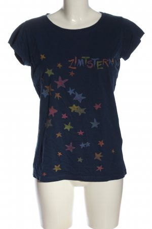 Zimtstern T-shirt Stampa a tema stile casual