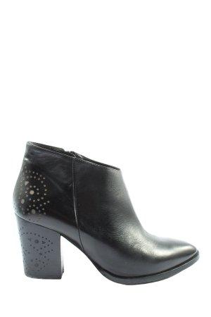 Zinda Reißverschluss-Stiefeletten schwarz Casual-Look